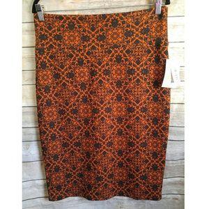 LuLaRoe Cassie Skirt Orange
